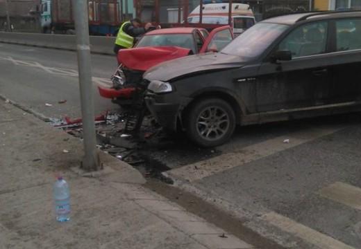 Újabb baleset Marosszentgyörgyön, a polgármesteri hivatalnál