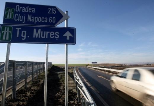 Várva várt autópálya: irány Marosvásárhely!