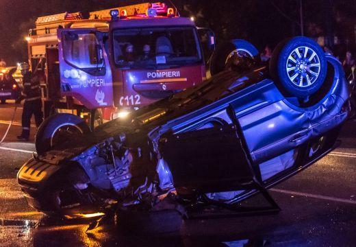 Súlyos közúti baleset Marosvásárhelyen
