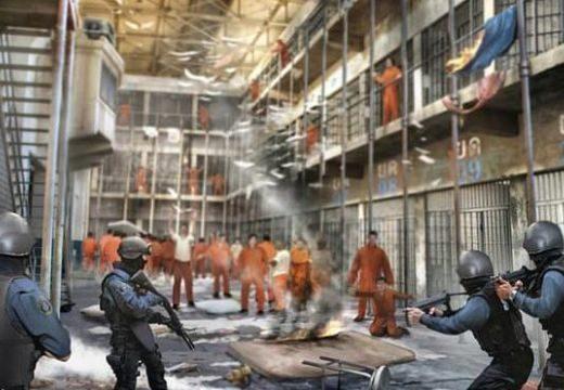 Könnygáz és éhségsztrájk: lázadás a börtönökben