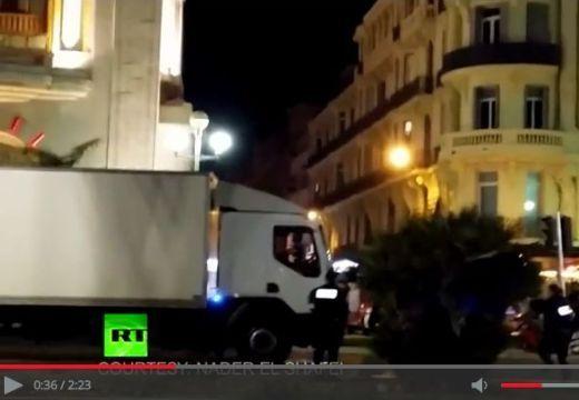 Így lőtték le a rendőrök a nizzai terrorcselekmény elkövetőjét – videó!