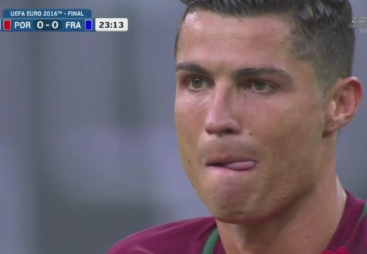 Zokogva hagyta el a pályát Ronaldo a döntőben