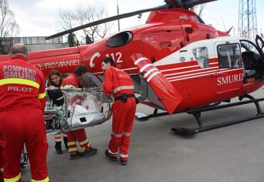 Mentőhelikopterrel szállították Marosvásárhelyre az újabb medvetámadás áldozatát