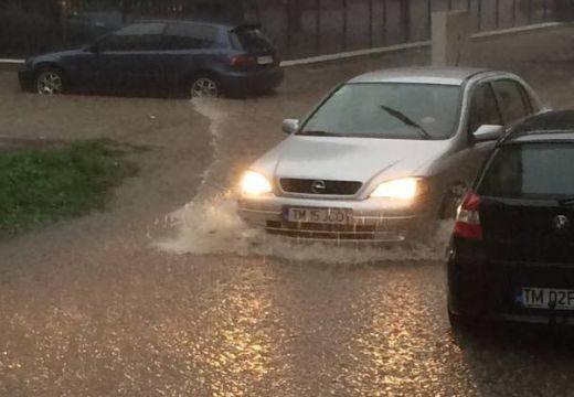 Özönvízszerű eső zúdult Temesvárra