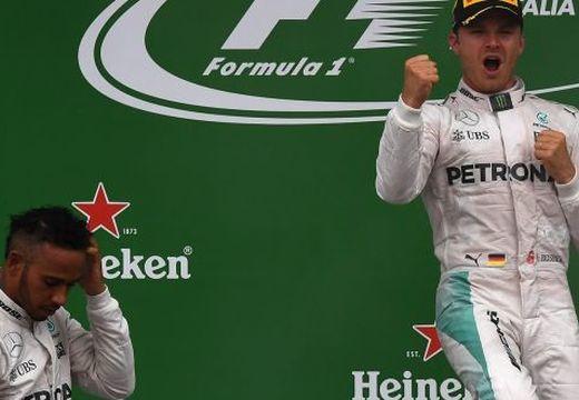 Rosberg győzött az Olasz Nagydíjon és két pontra felzárkózott