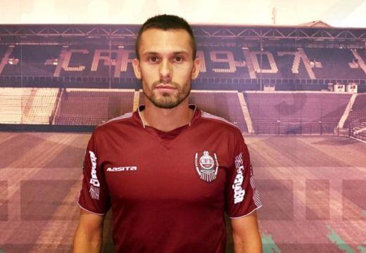 Az eszéki csapatkapitány a Kolozsvári CFR-nél folytatja