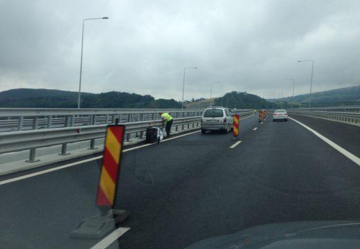 Járható az autópálya, befejezték az építkezést