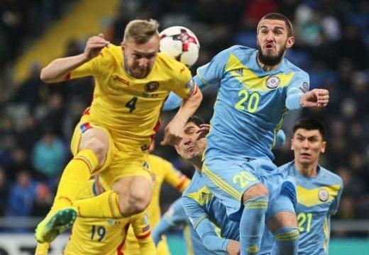 Románia csak döntetlent ért el Kazahsztánban