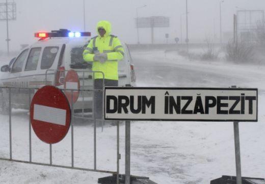 Forgalomkorlátozás a Hargitán az erős havazás miatt