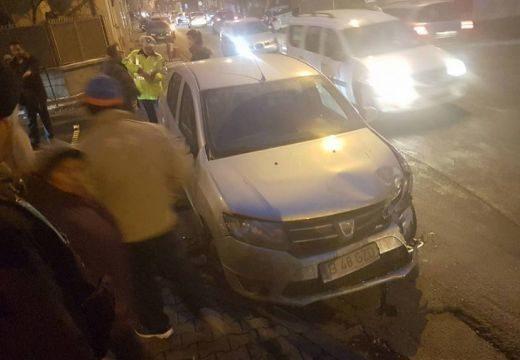 Baleset volt az Arató és a Brassói utca kereszteződésében