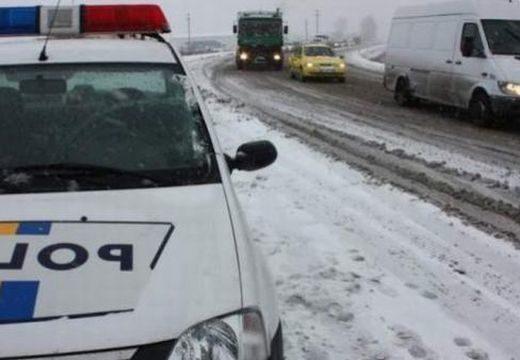 Baleset a téli útkörülmények miatt