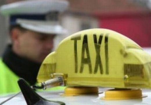 Két óra alatt 14.000 lejre büntetett taxisokat a rendőrség