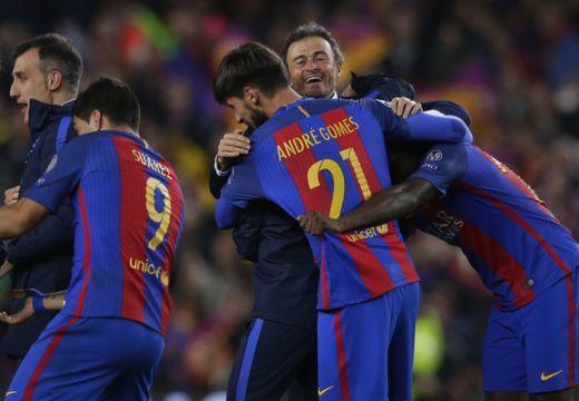 Katalán csoda: a Barcelona 6-1-es győzelemmel jutott tovább a BL-ben
