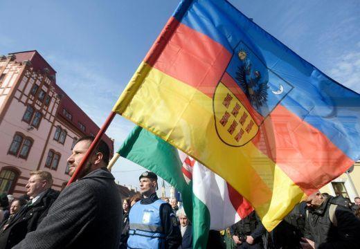 Megbírságolta a csendőrség a március 15-én Erdély-zászlóval felvonulókat