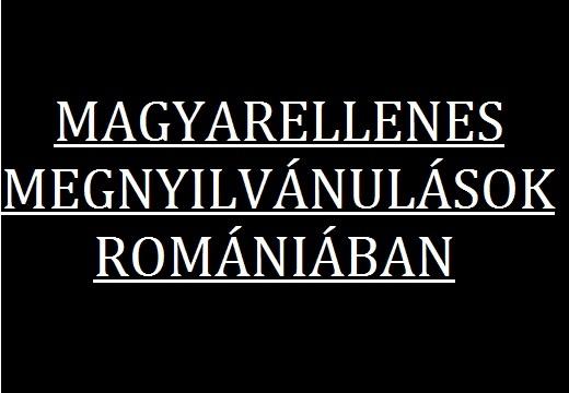 Magyarellenes megnyilvánulások Romániában