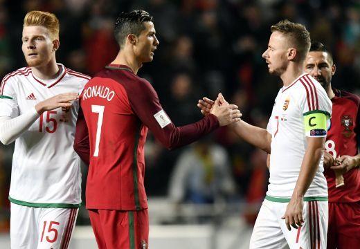 Leiskolázta Portugália Magyarországot