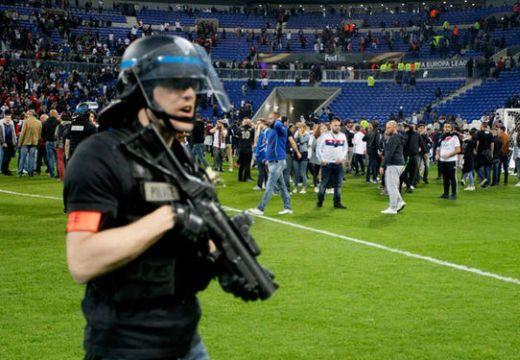 Európa Liga: Káosz a lyoni mérkőzésen