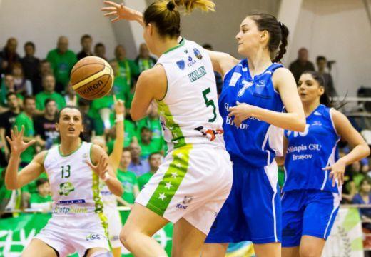 Női kosárlabda: A Sepsi SIC bejutott a bajnokság döntőjébe