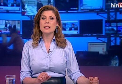 Hatalmas bukás volt élőben a HírTV-n – videó