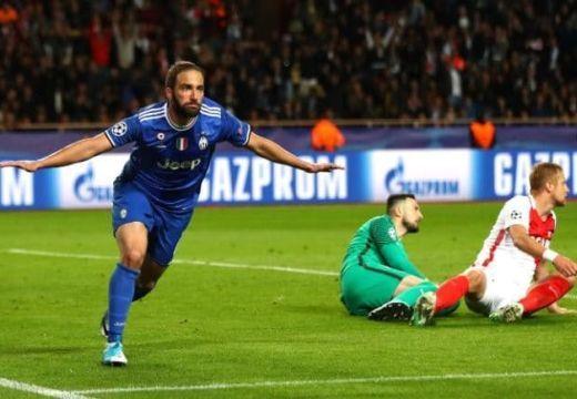 Bajnokok Ligája: Higuaín duplájával a döntő kapujában a Juventus