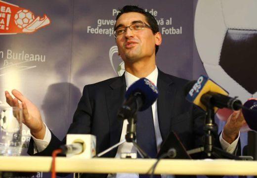 Ákosfalván a Román Labdarúgó-szövetség elnöke