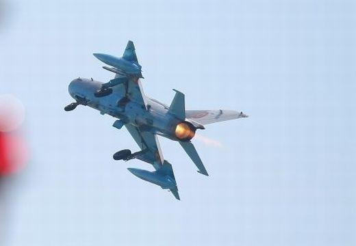 Lezuhant egy MiG 21-es román katonai repülőgép