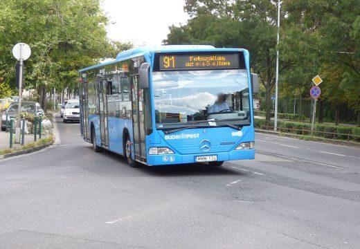 Változik a 91-es és a 291-es busz menetrendje Budapesten