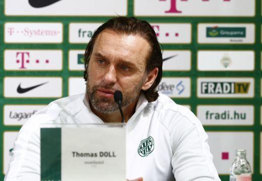 Itt van Thomas Doll nyilatkozata a Ferencvárost pofára ejtő vereség után