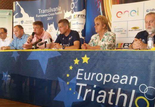 Marosvásárhely ismételten a triatlonsport európai térképén