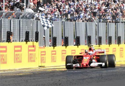 Magyar Nagydíj – Vettel nyert a Hungaroringen és növelte az előnyét összetettben