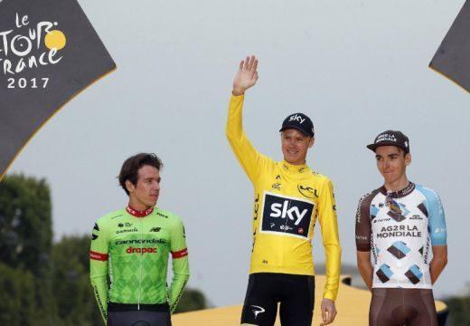 Froome nyerte a Tour de France-t