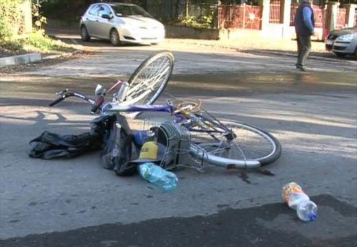 Kerékpáros halálos balesete Segesváron