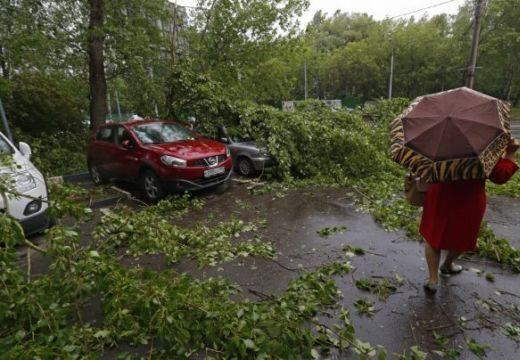 Kidőlt fák, megrongálódott autók: a pusztító vihar következményei