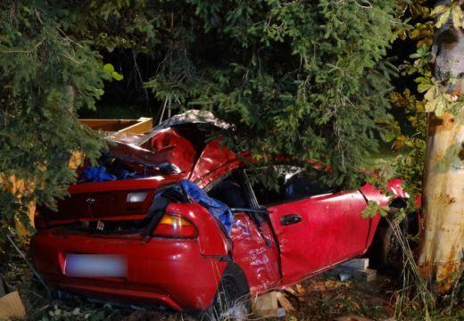Hárman meghaltak! Az autó megpördült, majd tengelye körül forogva nekicsapódott egy fának