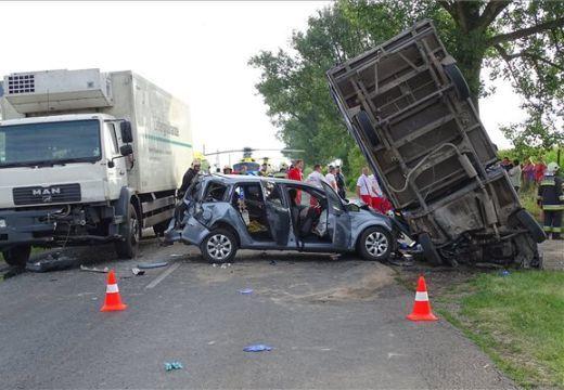 Ilyen balesetet is ritkán látunk