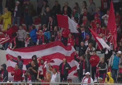 Székely himnuszt énekeltek a román focibajnokságban: ez történt a Sepsi OSK 1. ligás bemutatkozó mérkőzésén – videó