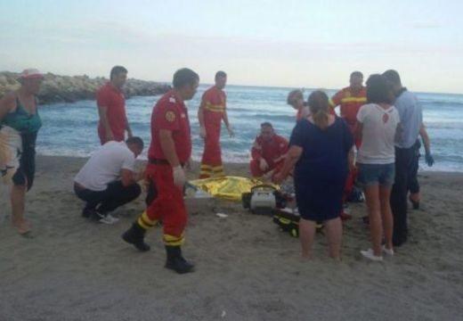 Megtalálták a tengerbe fulladt fiatal holttestét