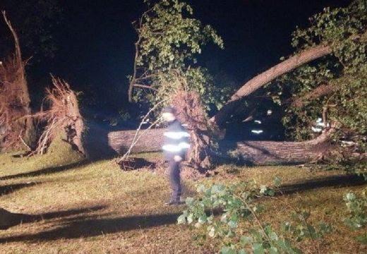 Embert ölt a vihar egy Bihar megyei kempingben, sérültek