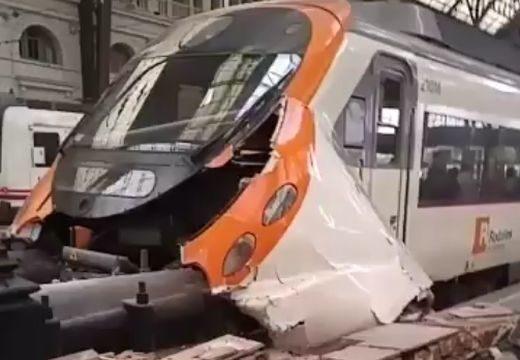 Fékezés nélkül száguldott be a vonat a pályaudvarra – 48 sérült