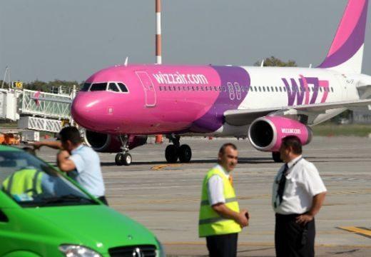 Bombariadó a Wizz Air gépén a kolozsvári repülőtéren