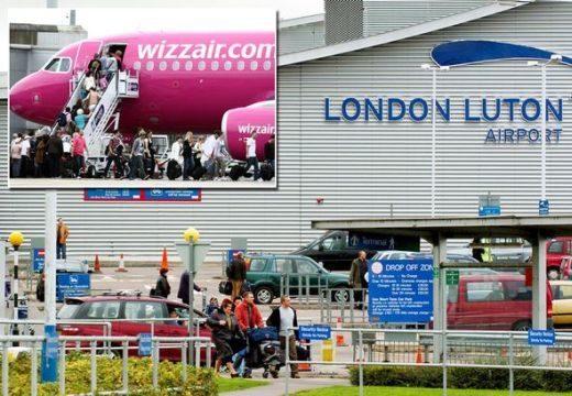 Riadalom a Wizz Air londoni járatán