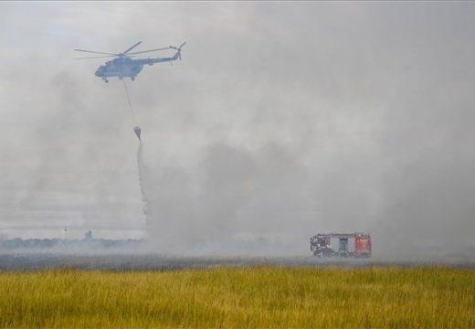 Égett a Hortobágy – csaknem ezer hektáron pusztított a tűz!