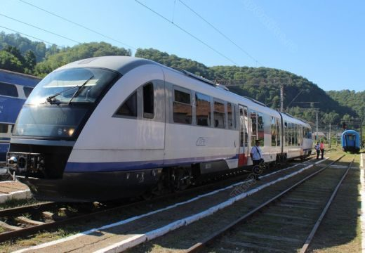 Lepusztult és rossz állapotban lévő vasútvonalat avattak – videó