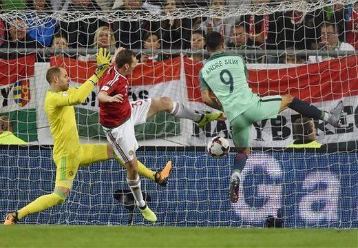Labdarúgó vb-selejtező – Magyarország-Portugália 0-1