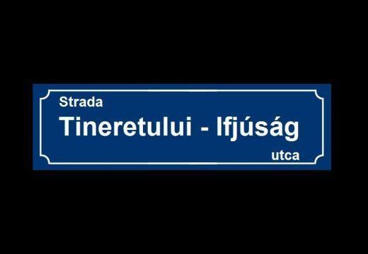 Kétnyelvű utcanévtáblák: Vass Levente marosvásárhelyi RMDSZ-elnök tájékoztatója