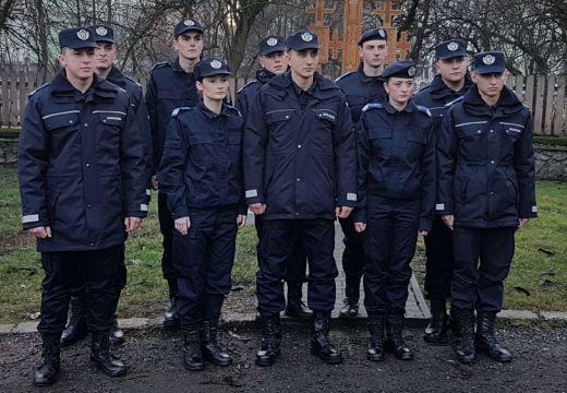 Tíz új csendőr Marosvásárhelyen