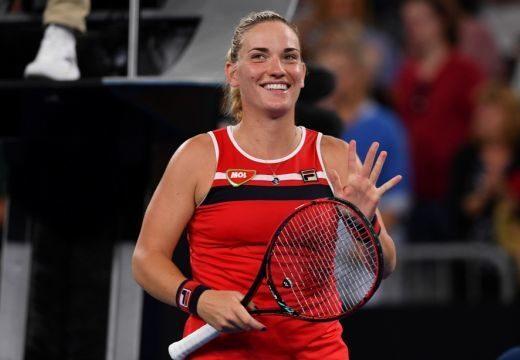 Australian Open: Babos bravúrral a második fordulóban