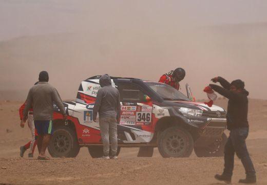 Dakar: Balesetet szenvedett, kórházba vitték André Villas-Boast!