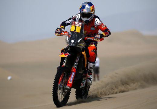 A címvédő nyerte a Dakar-rali első szakaszát