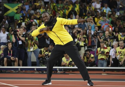 Focistának áll a világ leggyorsabb embere, Usain Bolt